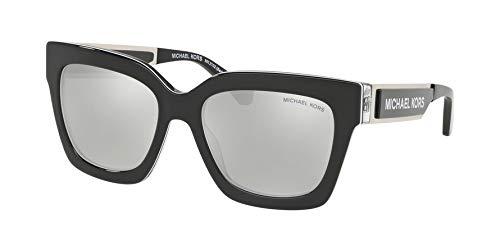 Michael Kors Sonnenbrillen BERKSHIRES MK 2102 Black/Silver Damenbrillen