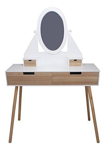SCHMINKTISCH Designer #563 Frisiertisch Frisierkommode 146 x 100 x 30 cm modern habeig®