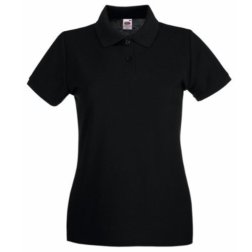 Fruit of the Loom Ladies Lady-Fit Short Sleeve Polo Shirt Test