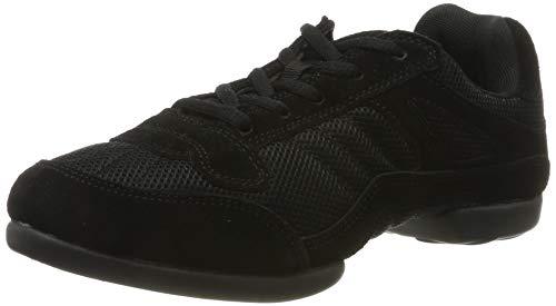 RUMPF Samba Sneaker Sportschuhe Ballet & Tanzschuhe Dance, Schwarz (Black), 40,5- 41 EU/ Herstellergröße- 7 UK