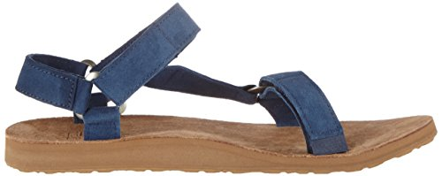 Teva Herren Original Universal Suede M's Sandalen Blau (Navy)