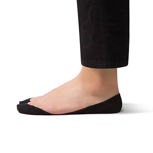 Ultra No Show Non Slip Non Skid Women's Cotton Sock – SHEEC SoleHugger Secret