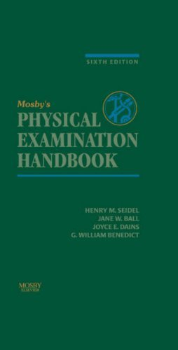Mosby's Physical Examination Handbook by Henry M. Seidel MD (2006-04-12)