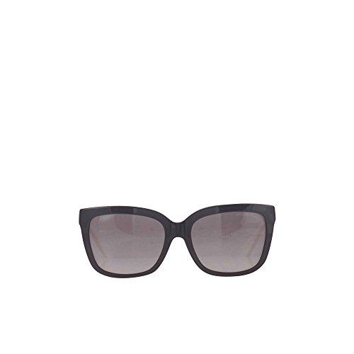 Michael Kors Unisex-Erwachsene Sandestin Sonnenbrille, Schwarz (Black Off White 305211), 54