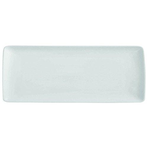 DEGRENNE Modulo Plat Rectangulaire Porcelaine Blanc