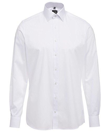 Olymp Herren Hemd LEVEL 5 BODY FIT extralange Ärmel Weiß