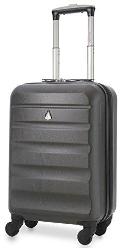 f88b80682 Aerolite 22x14x9in (56x36x23cm) Ligero ABS Hard Shell Maleta de viaje de 4  ruedas con equipaje de mano – Tamaño máximo para Delta, American Airlines,  ...