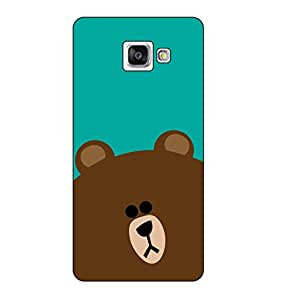 Happoz Samsung Galaxy A3 (A310) (2016) Cases Back Cover Mobile Pouches Shell Hard Plastic Graphic Armour Premium Printed Designer Cartoon Girl 3D Funky Fancy Slim Graffiti Imported Cute Colurful Stylish Boys D321