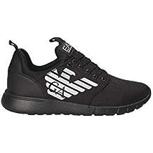 Ea7 Nylon Racer Uomo Sneaker Nero b0c65c3344d