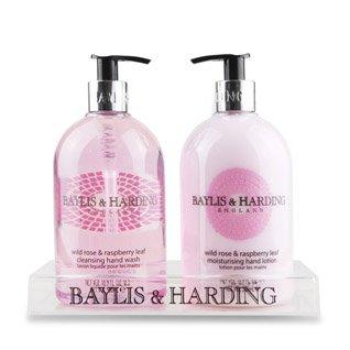 Baylis & Harding, Wild Rose & Raspberry Hand Wash & Lotion Set