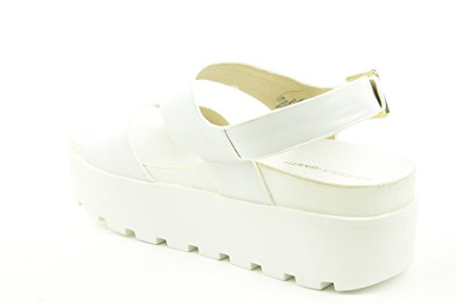 Windsor Smith Platform Sandal Fend White - Sandalo bianco suola alta White