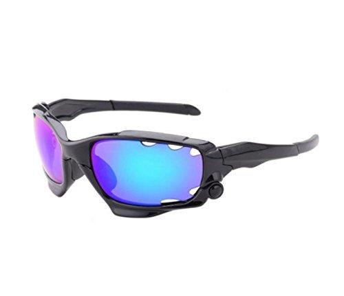 Addora Männer Anti-UV400 Motorrad-Sonnenbrillen Laufen Radfahren Angeln Golf Sportbrillen,C-OneSize
