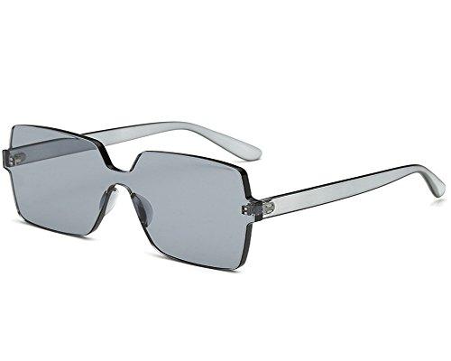 UMCCC Frauen Sonnenbrille Mode Wilde Persönlichkeit Straße Schießen Reisen, Quadratische Große Box Explosion Modelle