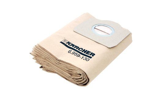 Karcher 69591300 - Sacchetti filtranti per aspirapolvere