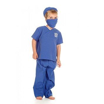 Kids Boys Girls Arzt / Chirurg Kostüm 5-7 Jahre (Kostüm Für Sanitäter Kinder)