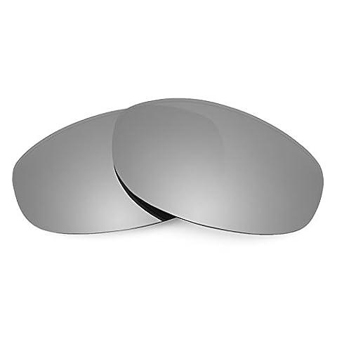 Verres de rechange Revant polarisés Titanium pour Oakley Tightrope