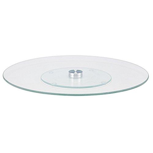 Présentoir à gâteau, verre, rotatif, Ø30 x 2 cm – Plateau à gâteau pâtisseries Support pour gâteau Plateau à gâteau gâteaux Assiette présentoir à gâteau
