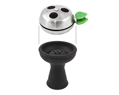 Paide - Regulador Gestor de Calor para carbón de cachimba narguile Shisha Hookah Accesorio Shisha aleacion...