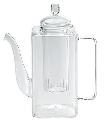 BITOSSI HOME Théière Verseuse en verre de borosilicate III