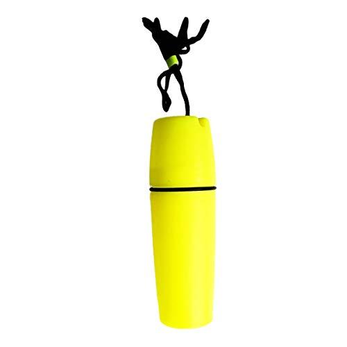 Myriad Choices wasserdichte Kapsel Outdoor wasserfeste Behälter Flasche für Tauchen Schnorcheln Sport Kajak-, Kanufahren Rafting. Wassersport Camping Wandern -