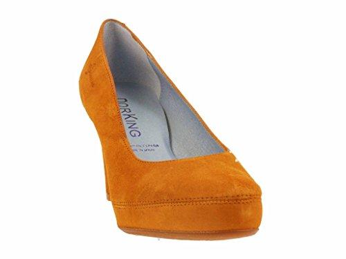 Dorking - Zapatos de Vestir de Otra Piel Mujer