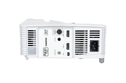 Top Optoma GT1080E Full HD 1080p Short throw 3000 ANSI Lumens DLP Projector Discount