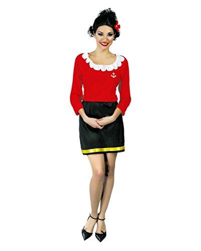 Seefahrer Frau Kostüm Olivia (Olivia Kostüme)