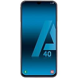 "Samsung Galaxy A40 - Smartphone de 5.9"" FHD+ sAmoled Infinity U Display (4GB RAM, 64GB ROM, 16MP, Exynos 7904, Carga rápida), Coral [versión española]"