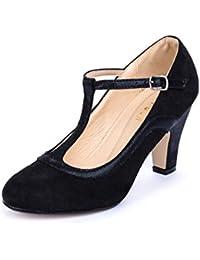 La Push Aster Zapato Mujer Tacón Negro