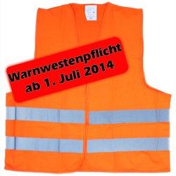 Preisvergleich Produktbild Sicherheitswarnweste Warnweste neon EN ISO 20471 Klasse 2