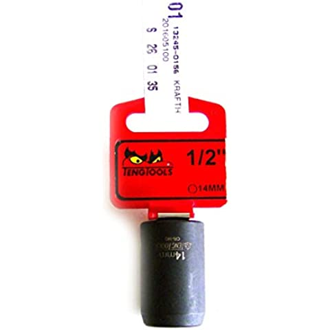 Teng tools cromo-molibdeno acciaio inox Parete Impatto Socket 14mm