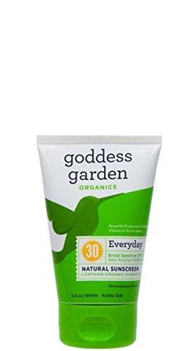Organics Spf 30 Sunscreen (Goddess Garden Organic Sunscreen - Natural Spf 30 Lotion - 3.4 Oz)