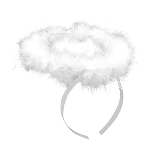 Lazzboy Party Kostüme White Angel Feather Wings Stick -