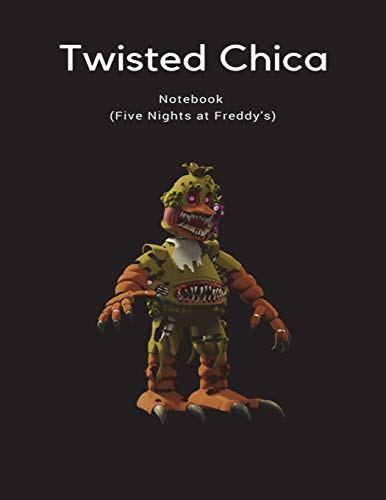 Twisted Chica Notebook (Five Nights at Freddy's) por Fandil Made