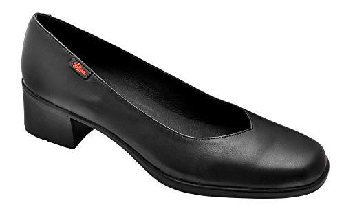 e2dabeb1 Zapato salón Mujer Uniformes en Piel Color Negro, Marca DIAN - Salon-7 (