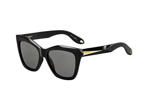 givenchy-sunglasses-womens-7008-qol-y1-black-frame-grey-lens-plastic
