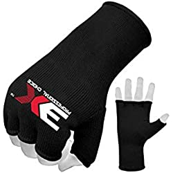 3X Professional Choice Coton Élastique MMA Boxe Entraînement Gants Intérieur Doigts Ouvert Bandages Protection du Poing