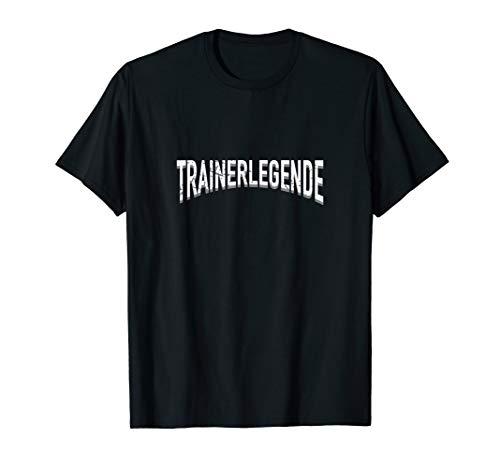 Trainerlegende Shirt - Geschenk für den besten Trainer (Volleyball-shirts Für Die Trainer)