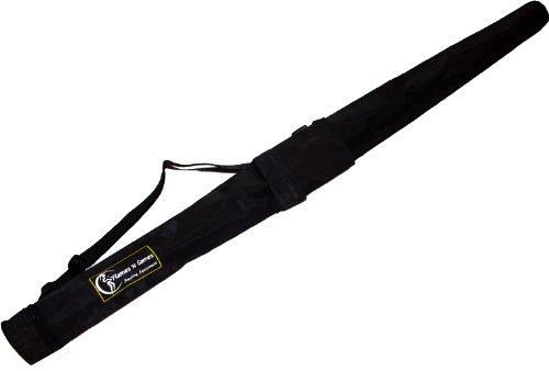 Flames N Games Pro Stäbe Reisetasche (100cm - 160cm) Ideal für den Transport keine 1.4m Stabe, Feuerstab oder Leuchtstab. (162cm) (Pro Schlüssel Trainer)