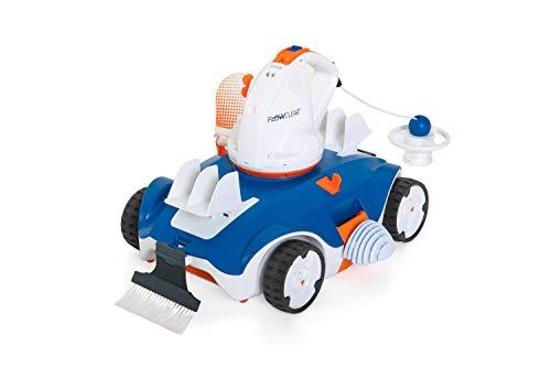 Bestway - Robot Automatique rechargeable pour Piscine - Capacité de nettoyage est de 40 m² - Capacité de filtration : 27 m³