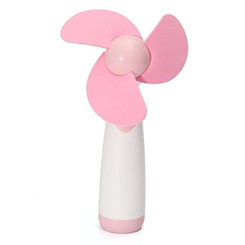 kotiger Persönliche Hand tragbare Mini Air Fan für Zuhause und unterwegs rose (Tragbare Standventilatoren)