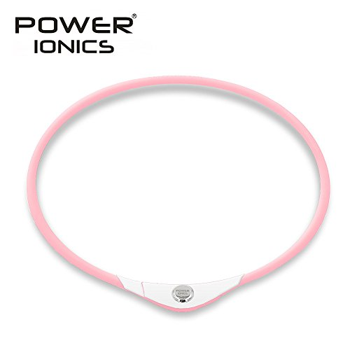 323c403d5280 Power Ionics Germa niun Titanium litio Black Carbon Pendant Necklace Collar  pt069