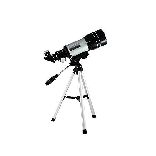 CWC La óptica de Vidrio refracción Telescopio, Telescopio Refractor for Principiantes, Totalmente Recubierto - Altura Ajustable del trípode
