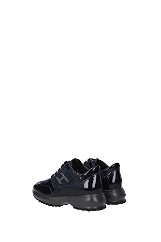 HXC00N0258255OU810 Hogan Sneakers Bambino Vernice Blu Blu