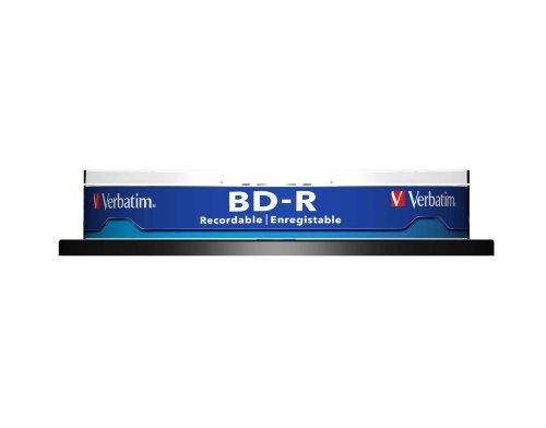 Verbatim BD-R SL 25 GB Blu-Ray Disc (Pack of 10)