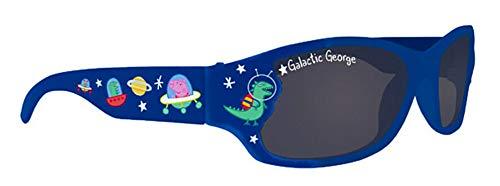 Alfred Franks Peppa Pig Galactic George in Sonnenbrillen für Kinder im Weltall