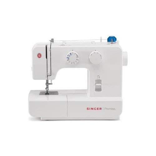 Singer Promise 1409 - Máquina de coser mecánica, 9 puntadas, 120 V, color blanco