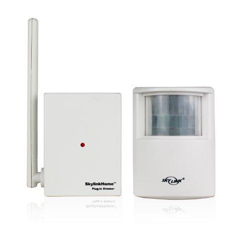 skylinkhome sk-10Funk Bewegungsmelder aktiviert Lampe Dimmer Steckdose fernbedienbar Schalter Empfänger-Kit für Home Automatisierung Beleuchtung Kontrolle