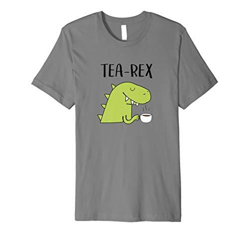Tea-Rex Dinosaur T-shirt Tea Drinkers Gift Idea Shirt