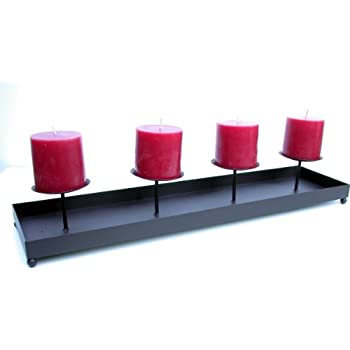 kerzenst nder metall schwarz kerzenhalter. Black Bedroom Furniture Sets. Home Design Ideas